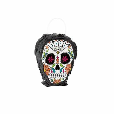 Halloween Party Day of the Dead Supplies Decor Horror Favor Skull Pinata Game