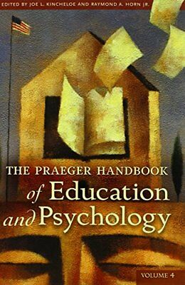 The Praeger Handbook of Education and Psychology: Volume 4 Book The Cheap Fast
