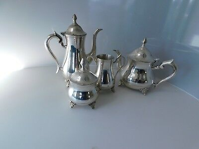 Lovely Silver Plated EPNS  Four Piece Tea & Coffee Set