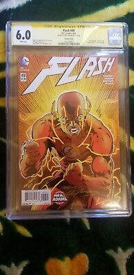 DC Comics The Flash #49 New 52 Variant Exclusive Signed by Neal Adam's CGC 6.0