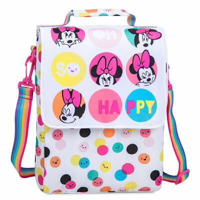 Disney Minnie Mouse Lunch Bag Tote Box Kit Sac Insulated Polka Dot New