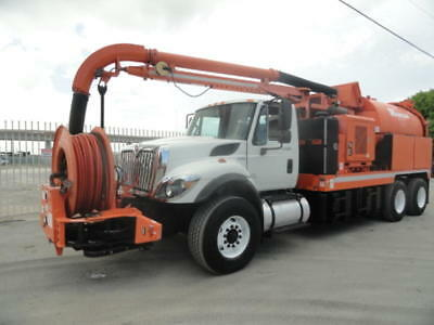 2012 Vac-Con Vactor Vacuum Truck Hydro Excavator Sewer Jetter Combo
