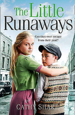 The Little Runaways (Halfpenny Orphans, Book 2) by Cathy Sharp (Paperback) Book
