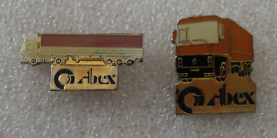 2 Pins camion truck . CABEX . Renault