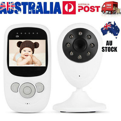 2.4 inch Wireless LCD Baby Monitor Camera Digital Audio Video Night Vision VIC