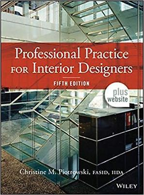 [PDF] Professional Practice for Interior Designers 5th Edition by Christine M. P