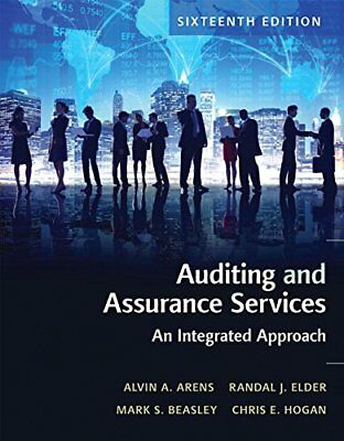 [PDF] Auditing and Assurance Services 16th Edition by Alvin A. Arens