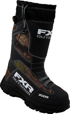 FXR Excursion Realtree Snow Boots Brown/Camo 4 M/6 W USA