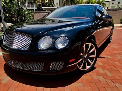 Continental Flying Spur -- 2012 Bentley Continental Flying Spur  45,800 Miles Beluga Solid 4dr Car 12 Cylin