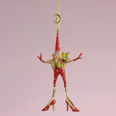 Patience Brewster H8 Christmas Star Woman 3.5in Mini Ornament 08-30953