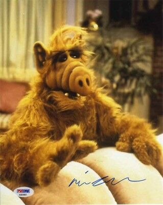 Mihaly Michu Meszaros Alf Autographed Signed 8x10 Photo Certified PSA/DNA COA