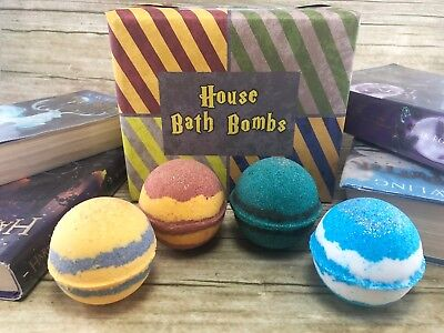 Hogwarts Bath Bombs Harry Potter Gifts Gryffindor Slytherin Ravenclaw Hufflepuff