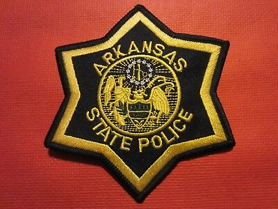 Collectible Arkansas State Police Patch, New