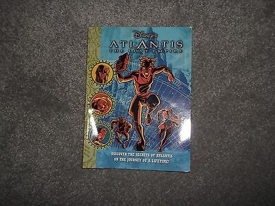 DISNEY MOVIES Atlantis the Lost Empire GRAPHIC NOVEL kids comic book #21