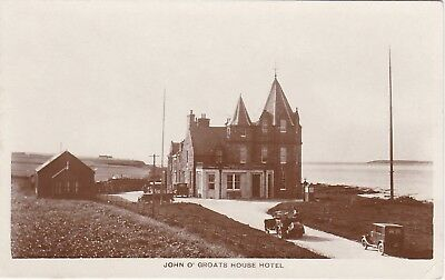 The Hotel & Early Cars, JOHN O' GROATS, Caithness RP