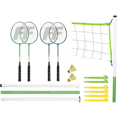 Franklin Sports Industry 50601 Badminton & Volleyball Set, Intermediate