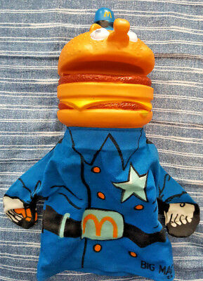 Vintage McDonald's Officer Big Mac Toy Hand Puppet by Milton Bradley 1973
