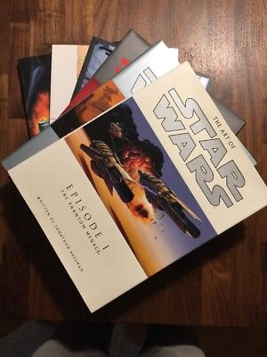 Art of Star Wars / Making of Episode I, II, III - RIESEN Buchpaket!!!