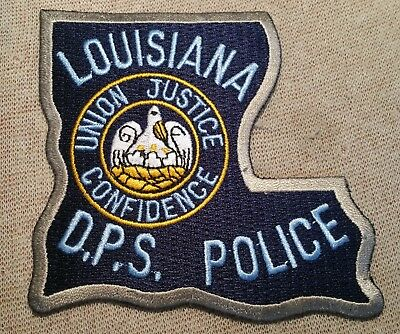 LA Louisiana State Department of Public Safety Police Patch