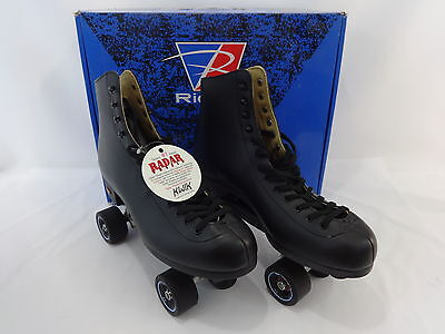 Riedell Power Dyne Roller Skates 111 Men 11 BR Radar Riva Wheels 57mm Free Style