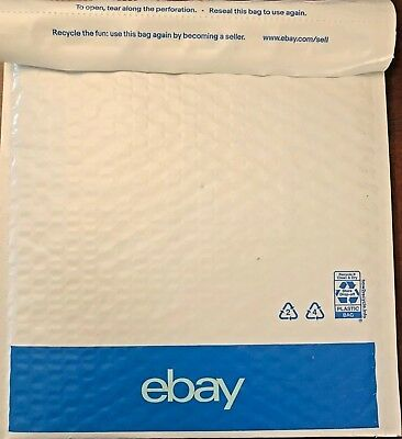 10 eBay Branded Bubble Envelopes Shipping Mailers 8.5 X 10.75