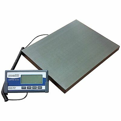 Digiweigh DW64 400lb Stainless Steel Digital Shipping Scale with Remote