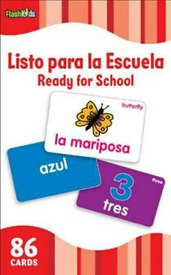 NEW Ready for School : Flash Kids Spanish Flash Cards By Flash Kids Editors