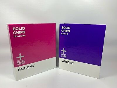 Pantone Plus Series Solid Chips Coated And Uncoated 99% Unused Graphic Arts B1