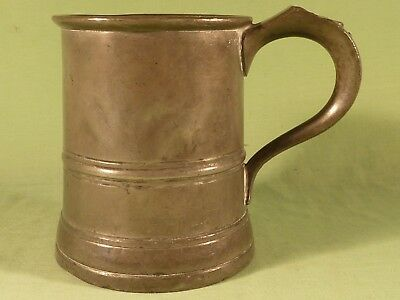 Antique Pint Pewter Tankard