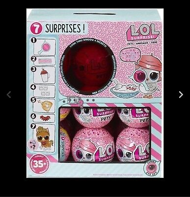 ✨ LOL SURPRISE PETS SERIES 4 EYE SPY FULL CASE 18 PC BALLS in BOX UNTOUCHED NEW✨