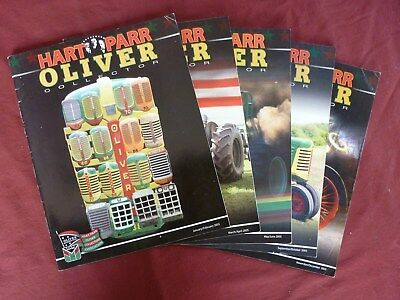 2005 Hart Parr Oliver Collector tractor magazines lot set of 5