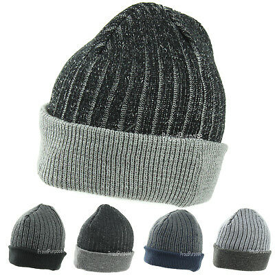 c86343581c70d New Winter Warm Men Woman Hat Striped Beanie Knit Cap Slouchy Baggy Skull  Ski