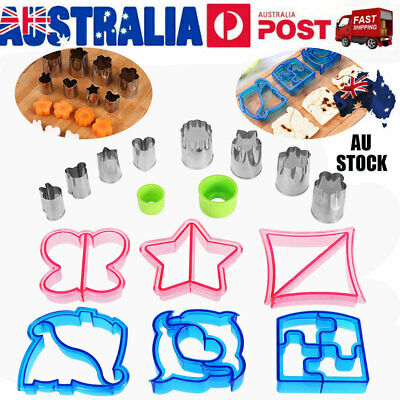 OUNONA DIY Kids Lunch Sandwich Toast Mold Cake Bread Biscuit Food Cutter Mould