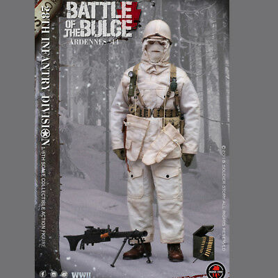 SoldierStory 1/6 SS111 WWII US Army 28th Infantry Division Ardennes 1944 Figure
