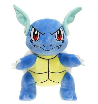 "Pokemon Center Wartortle 12"" Plush Toy Figure Anime Stuffed Doll Collectible"