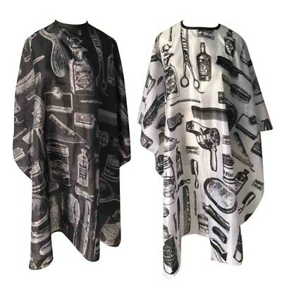 Adult Hair Cutting Salon Hairdressing Cape Hairdresser Gown Barber Cloth US