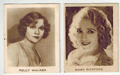Allen's Confectionery Steam Rollers Film Stars (1930s) Collector Cards (2)