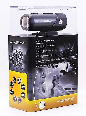 iON Speed Pro Action Cam 1080p Full HD Waterproof with Automotive & Bike Mounts
