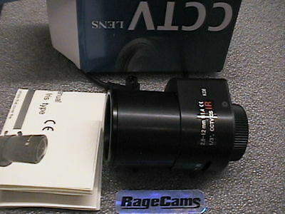 Infrared CS CCTV Camera Lens 2.8-12mm DC Iris IR f1.14