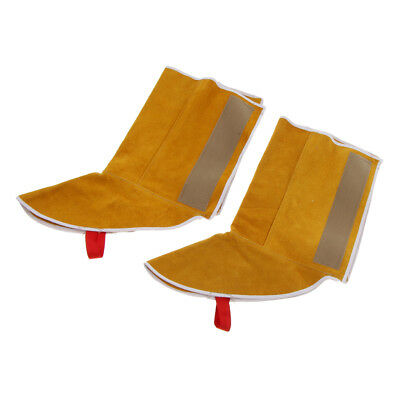 1 Pair Yellow Shoes Cover Welding Gear Feet Cover Protect Welder Shoe Safety