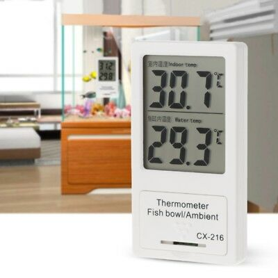 Aquarium Thermometer LCD Display Digital Temperature For Indoor& Fish Tank Water