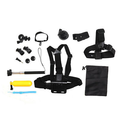 12 in 1 Accessories Kit For GoPro Hero 5 4 3 2 1 HD Action Camera Bundle Set