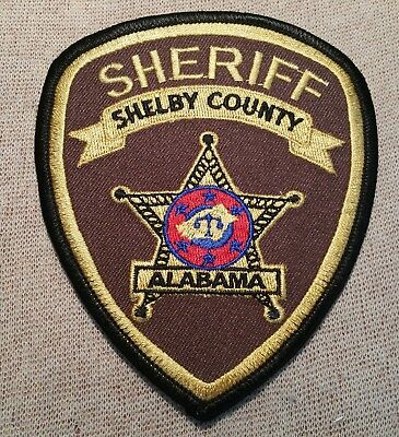 AL Shelby County Alabama Sheriff Patch