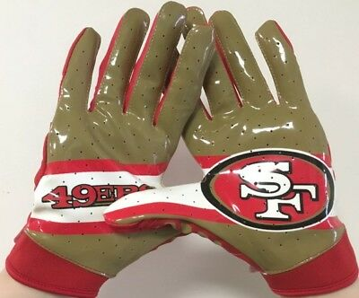 Receivergloves, Nitro Warp, Under Armour San Francisco 49ers