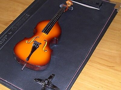 NEW Brown Glossy Contra Bass Mini Version with Stand - outstanding high quality