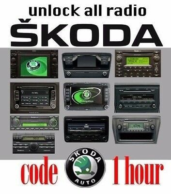 Skoda/VW Group Radio Codes Within 1 Hour