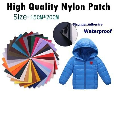 Strong Self-Adhesive Nylon Repair Patch - Applique For Down Jacket/ Tent- 15x20