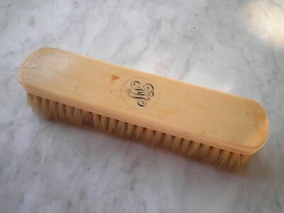 Vintage clothes brush - Drew & Sons Piccadilly Circus. French Ivory Cellulose