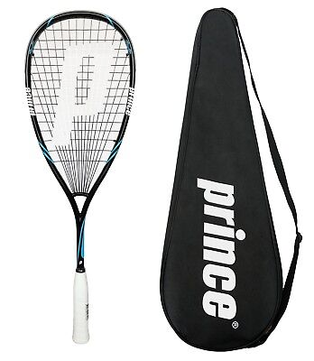 Prince Pro Shark 650 PowerBite Squash Racket + Cover RRP £160