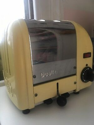 Yellow Dualit Toaster